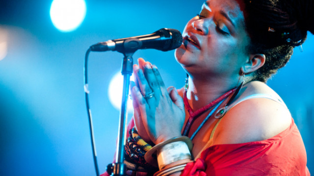 Sena live, Spoek Mathambo with Live band (RSA/Sub Pop)