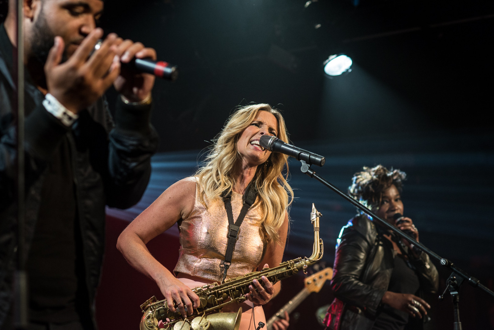 Scenic jazz variety: Candy Dulfer - A38 Ship