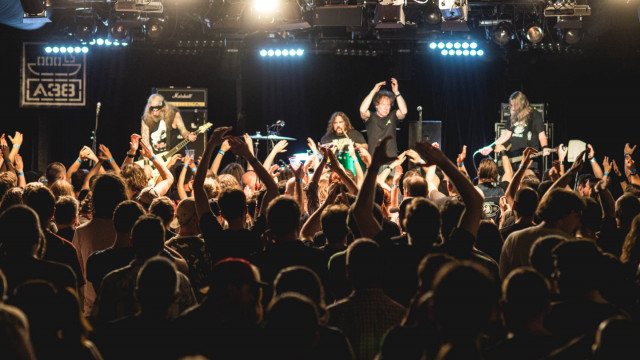 Saint Vitus (US) The Return Of The Walking Dead Tour, Apey and the Pea