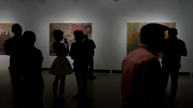 Szigeti Tamás kiállításmegnyitója