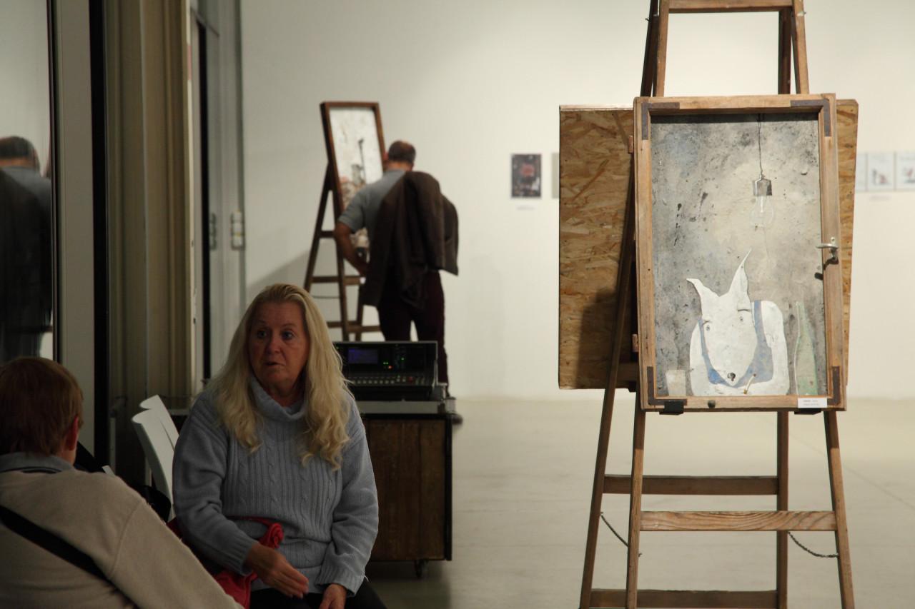Miltenberger Miltényi Miklós art exhibit
