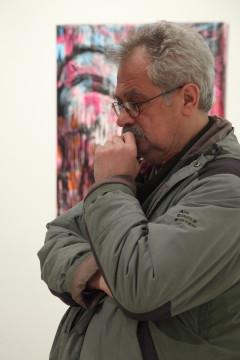 Ádám Zoltán exhibition opening