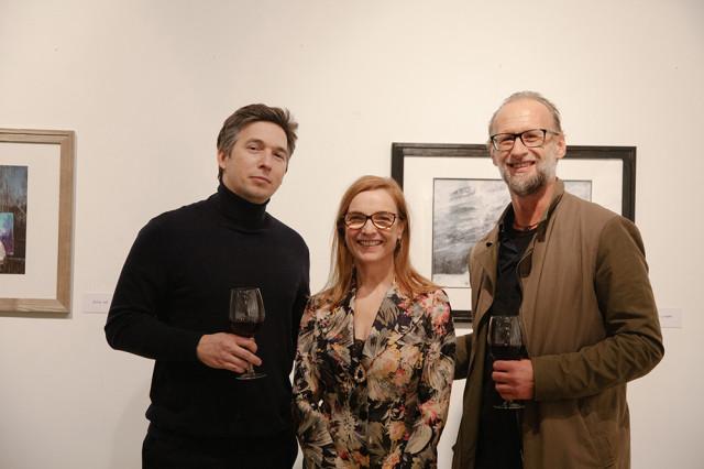 Tóth Andrej Urbi et Orbi című kiállításának a megnyitója