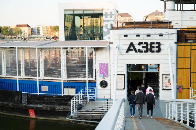 Back on Board: A38 Terrace Opening